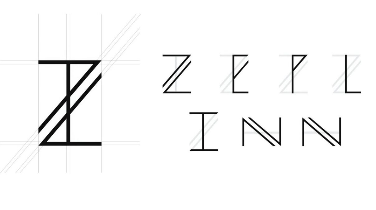 Zeplinn New Logo - The making of